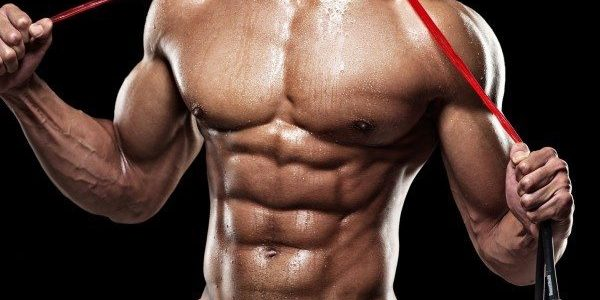 Which steroid is shown to boost the muscle protein synthesis